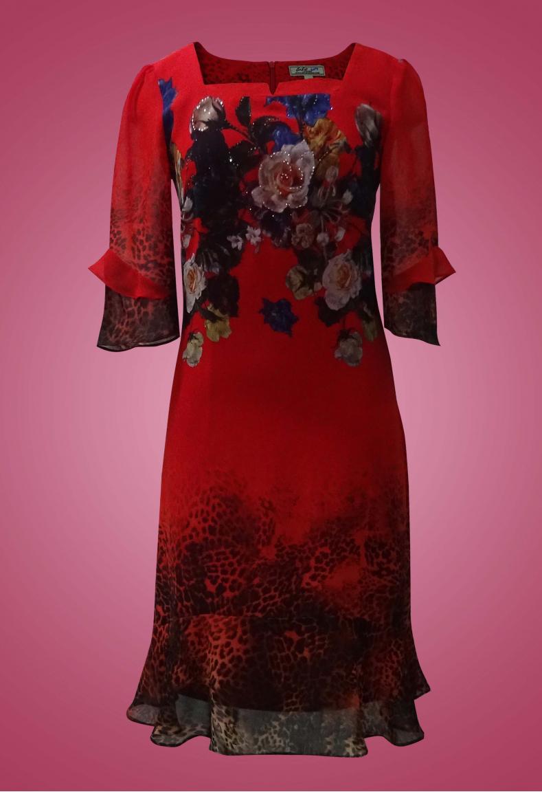 Đầm chiffon