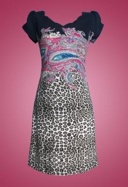 Đầm thun beo