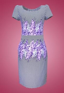 Đầm thun cổ thuyền thời trang sifa