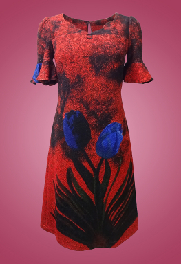 Đầm thun xốp