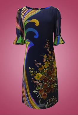 Đầm voan bông