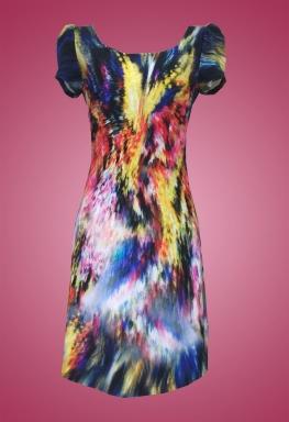 Đầm thun cổ tròn thời trang sifa