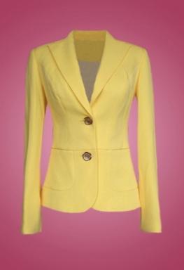 Áo Vest màu vàng thời trang sifa