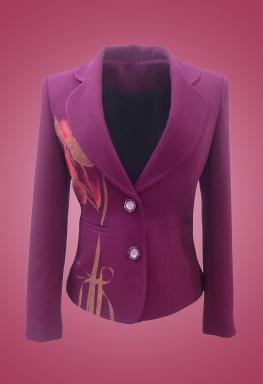 Áo vest bông cổ đanton