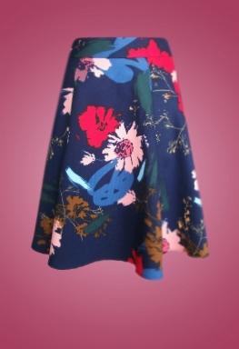 Váy bông tùng xòe